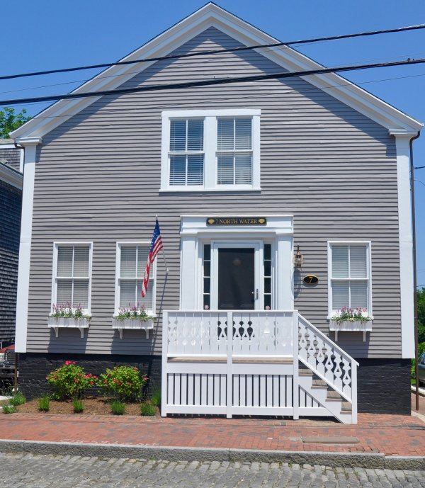 FRONT OF HOUSE - Best Location In Town Just Finished Complete Renovation - Nantucket - rentals