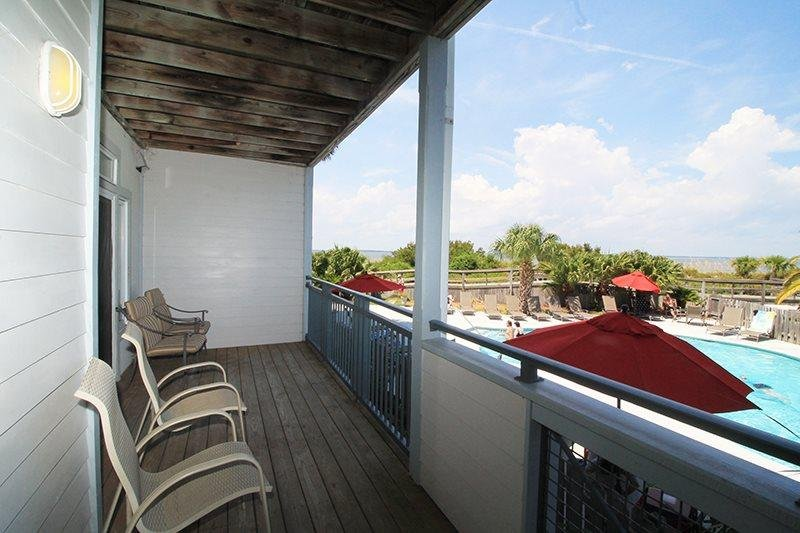 Savannah Beach & Racquet Club - Unit C103 - Water Front - Swimming Pool - Image 1 - Tybee Island - rentals