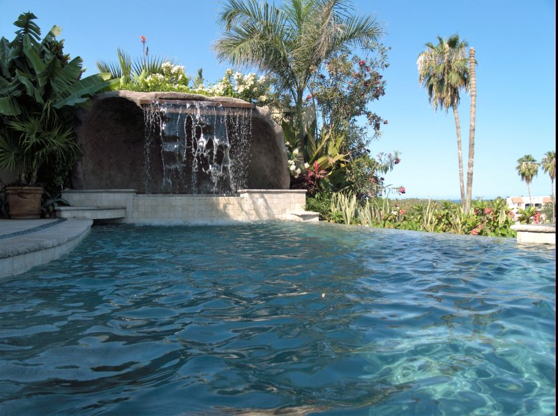 Pool and Jacuzzi - Boutique Condos x 2 and Delux Studio Suites x 2 on Golf Course / Sea Views - San Jose Del Cabo - rentals