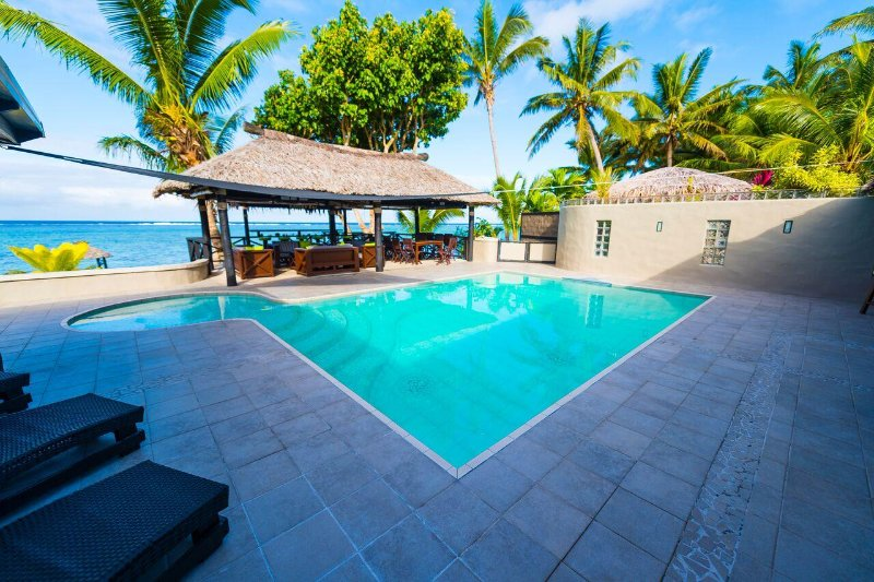 Coral Palms is all about indoor outdoor relaxation in paradise.  - Coral Palms Exclusive Beachfront Private Villa/Resort - Sigatoka - rentals