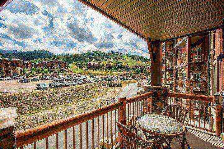 Wide open mountain views of the ski resort from your very own private balcony. - Westgate 2 Bedroom Kestrel Suite - Park City - rentals