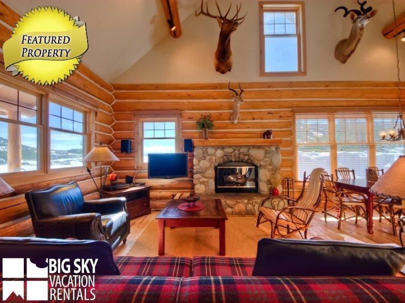 Big Sky Resort   Powder Ridge Cabin 1 Moose Ridge - Image 1 - Big Sky - rentals