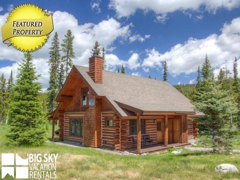 Big Sky Resort | Powder Ridge Cabin 5 Moose Ridge - Image 1 - Big Sky - rentals