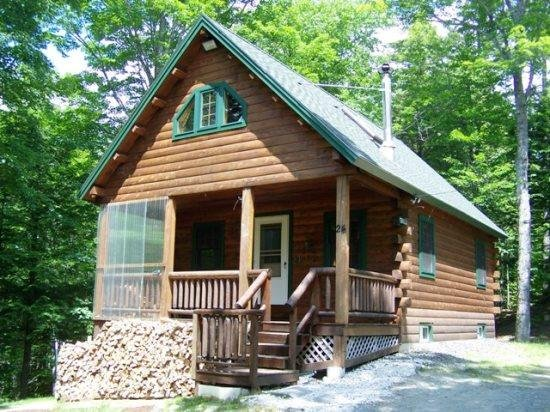 #206 Comfortable log cabin in the woods of Maine - Image 1 - Greenville - rentals