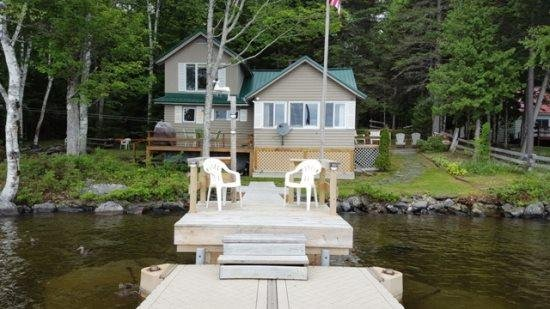 #117 Lakefront camp with beautiful beach & dock - Image 1 - Greenville - rentals