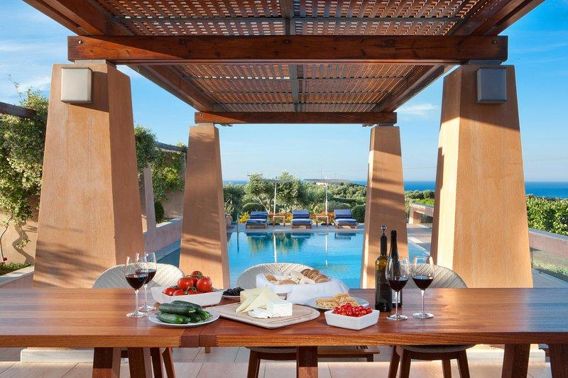 AMAZING VIEWS - Villa AnnaNiko Chania Crete Luxury - Amazing views - Heated pools - Chania - rentals