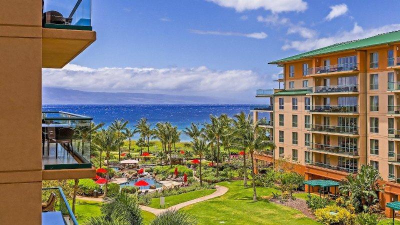 Maui Resort Rentals: Honua Kai Konea 515 - Upgraded 5th Floor Oceanview Studio - Image 1 - Lahaina - rentals
