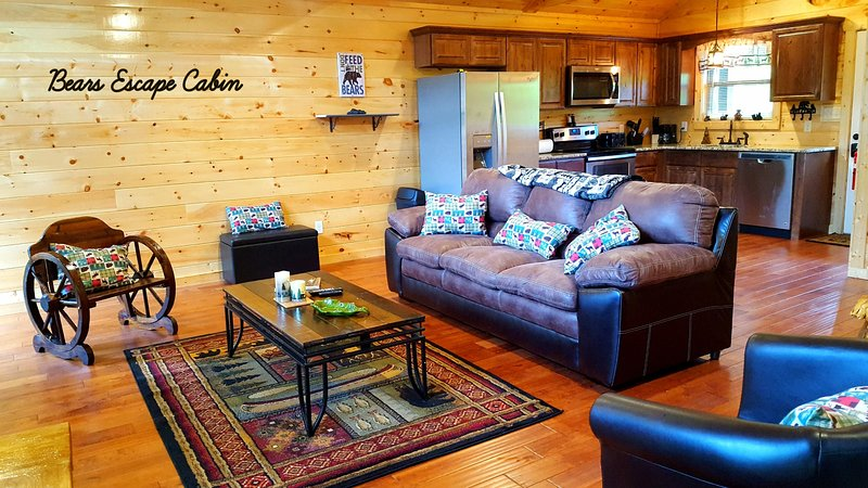 Beautiful Spacious Cabin - Prime Location Rustic Elegant Mountain Cabin - Gatlinburg - rentals