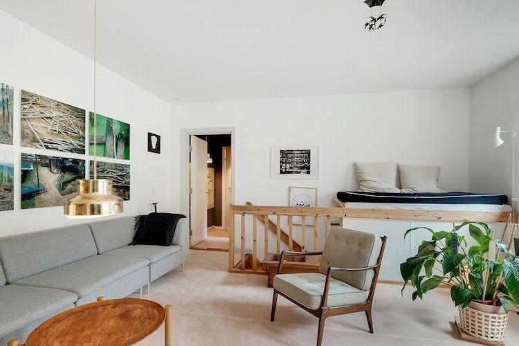 4 bedrooms, 1 bathroom - Two level Copenhagen apartment at Noerreport station - Copenhagen - rentals