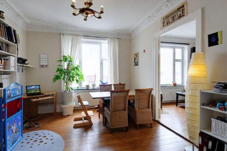 Lovely bright Copenhagen apartment near lovely parks - Image 1 - Copenhagen - rentals