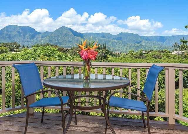 Amazing views from this Hanalei Bay Villa!  Free Standing Villa! - Image 1 - Princeville - rentals