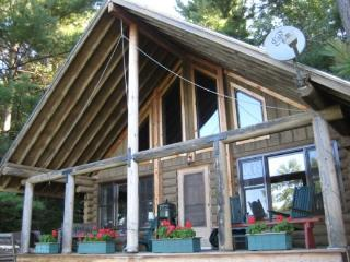 Two Bedroom MountainTop Log Cabin - Lake Bomoseen vacation rentals