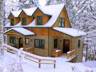 New European style cabin- sledding hill, gourmet kitchen, games, Sleeps 9. - Sierra Village vacation rentals