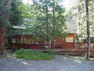 Vintage Twain Harte cabin- deck, picture window, full kitchen, BBQ, fireplace - Twain Harte vacation rentals