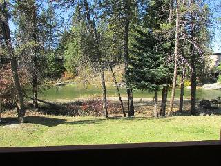 Condo on the Payette River with seasonal pool and tennis courts. - McCall vacation rentals
