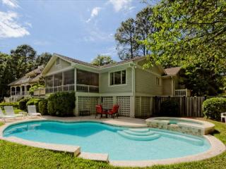 3rd Row 4BR/3BA Pet Friendly Home Offers Heated Pool and Spa and Backyard - Hilton Head vacation rentals