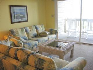 Living Room - Oak Island Villa 1410 - 19th Hole - Caswell Beach - rentals