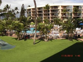 Maui Sunset 323B  1400 square feet with two Lanais and excellent ocean view! - Kihei vacation rentals