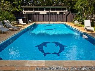 Sweet, Immaculate Studio Cottage with Pool on Beachfront Property - Waimanalo vacation rentals