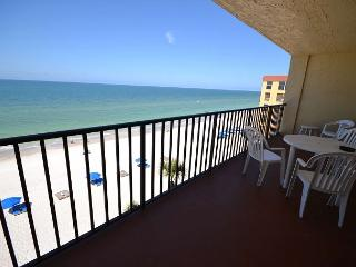 Las Brisas 404 Gulf Front 4th Floor Condo with 46 in Widescreen TV and WiFi! - Madeira Beach vacation rentals