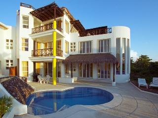 Beachfront Villa on San Francisco Beach, Private Pool, Near Reefs,Cook Option - Cozumel vacation rentals