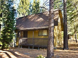 Nice, economic, vacation cabin with wood fireplace and open deck - South Lake Tahoe vacation rentals