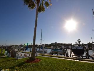 Madeira Beach Yacht Club 261D - Waterfront Condo newly refreshed in 2013! - Florida North Central Gulf Coast vacation rentals