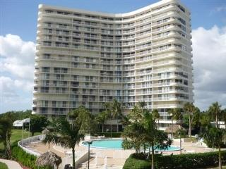 Building - Tranquil Estuary Beach Views await from the large wrap balcony of this pristine - Marco Island - rentals
