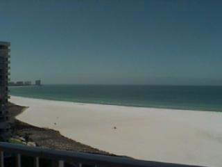Beach view from balcony - South Seas 3-1406 - Marco Island - rentals