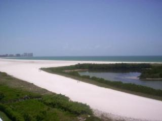 Beach view - Panaromic views from the front wrap balcony of this nicely Updated Condo - Marco Island - rentals