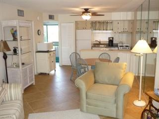 Main Level Living Area - Anglers Cove A206 - Marco Island - rentals