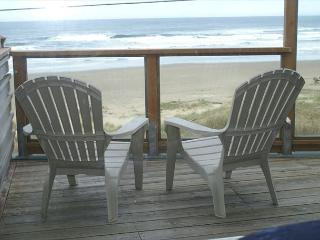 Oceanfront, spectacular views, fireplace. deck, charcoal BBQ. WiFi, DSL - Neahkahnie Beach vacation rentals
