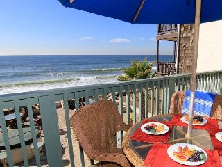 Beautiful, 2 unit duplex, 6 BR's total, On the Sand, Private Spas & Balconies - Alcalde vacation rentals