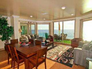 7br/7ba Luxury Oceanfront Retreat, Decks, Spa, BBQ, Designer Decorated & A/C - Oceanside vacation rentals