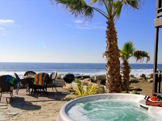 Beachfront Condo on the Sand w/ private spa ,Designer Decorated - Oceanside vacation rentals