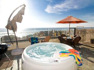Beachfront 11br/11ba home on the ocean with rooftop deck, spa, newly built! - Oceanside vacation rentals