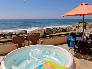 4br/4ba Luxury Oceanfront Condo, Patio, Spa, BBQ, P518-2 - Oceanside vacation rentals