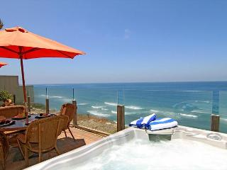 Single family 8br, 6.5ba home on the ocean, private spa, fireplace, patio - Oceanside vacation rentals