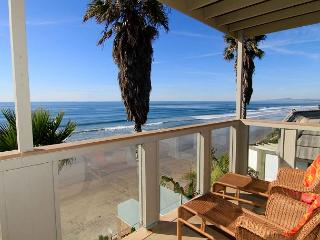 Oceanfront rental with 6br, 5ba, endless ocean views, spa, fireplace, & more! - Encinitas vacation rentals