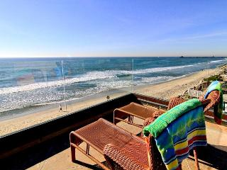 5200sf Home on the Beach with 8br's, 5.5ba's, rooftop deck, private spas... - Oceanside vacation rentals
