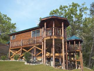 Enjoy 2 Private Gazebos, pool table, jacuzzi tub and 2 bathrooms in this sign - Gatlinburg vacation rentals