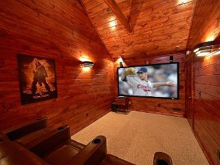 3 Master Suite Luxury Cabin with Private Home Theater Room (9 Foot Screen!) - Gatlinburg vacation rentals