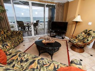 IP 309: Colorful beach front condo- heated pool, WiFi, FREE BEACH SERVICE - Fort Walton Beach vacation rentals