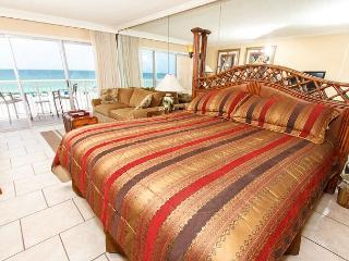 Condo #304: Beautiful beachfront efficiency- balcony, pool, WiFi - Fort Walton Beach vacation rentals
