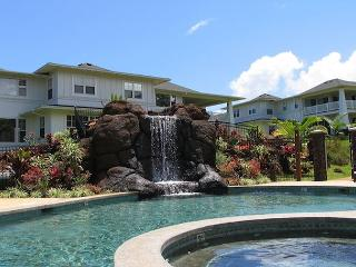 Beautiful Hawaiian Condo with AC!!  Ground floor 2 bedroom unit - Princeville vacation rentals