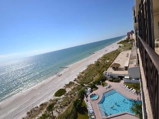 Ocean Sands 908  Updated corner condo with Gulf front balcony & free WiFi! - Redington Beach vacation rentals