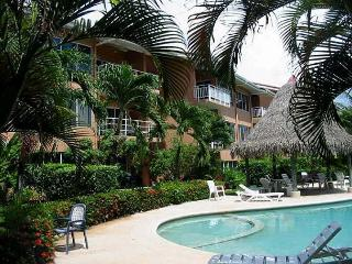 Beautiful beachfront townhome, with views, a/c, full kitchen, cable tv - Tamarindo vacation rentals