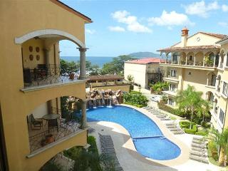 Beautiful penthouse condo- near beach, shared pool, partial ocean view - Tamarindo vacation rentals