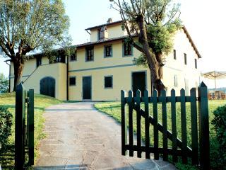 Tuscany Villa Accommodation - Fattoria Capponi - Versace - Montopoli in Val d'Arno vacation rentals