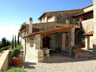 Apartment on a Chianti Wine Estate - Rosso 7 - Montefiridolfi vacation rentals